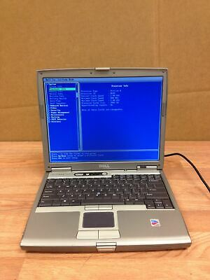 Dell Latitude D610 Laptop Pentium M 2.0 Ghz 768 Mb Cd Rw Dvd No HDD Working