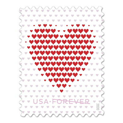2020 US Stamp - Made of Hearts - Single - SC# 5431