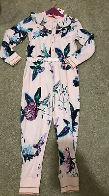 TED BAKER GIRL Age 6-7 Pyjamas All In One BNWT PINK 🎀💕🎀💕