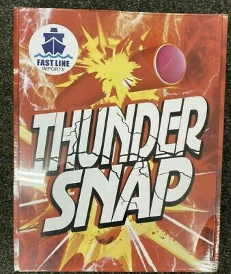 Snap Bangers Throw Down Bangers, Great Fun All Day Long Thunder Snaps