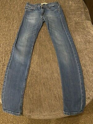 Levis Boy Girl 519 Extreme Skinny Jeans Age 14