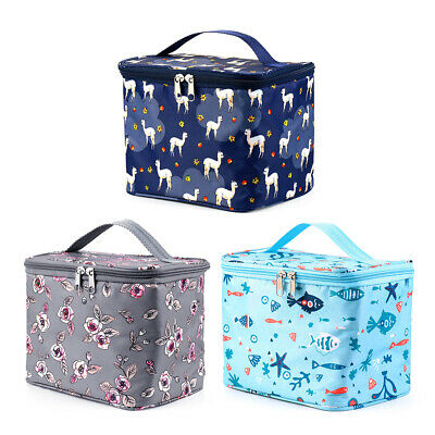 Insulated Oxford Cloth Waterproof Picnic Pouch Lunch Bag Lunch Box Food Storage