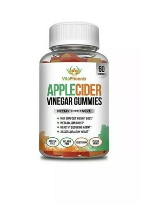 Apple Cider Vinegar Gummies – Support All Natural Weight Loss, Appetite Control,