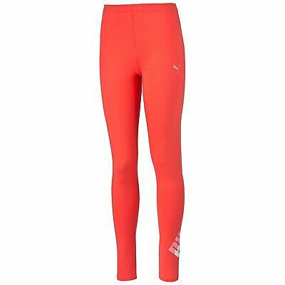 New Puma Girls FUN IND LEGGINGS Sports / Running / Gym pants Size S 7Yrs