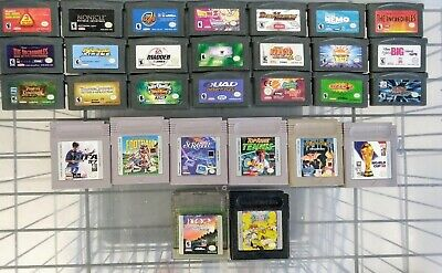 Various Nintendo Gameboy & Gameboy Advance GBA Titles Buy More & SAVE-SHIPS FAST