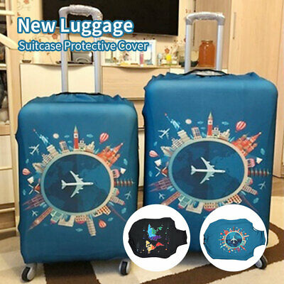 """NEW Travel Luggage Suitcase Bag Cover 22-32"""" Dustproof Protector Protective AU"""