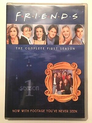 Friends - The Complete First Season (DVD, 2010, 4-Disc Set)