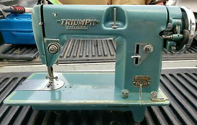 Vintage Triumph Precision Sewing Machine Made In Japan For Parts Or Repair