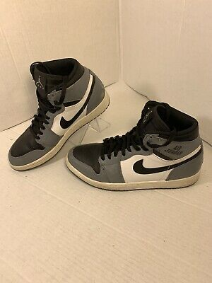 VINTAGE NIKE AIR FORCE High Top Leather WhiteGreen 910709