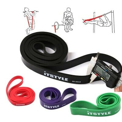 "41"" Resistance Bands Natural Latex Rubber Expander Power 208cm Yoga Rubber Loop"