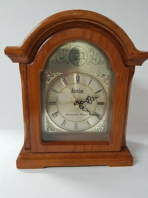 Rare Small Acctim Tempus Fugile Mantle Clock,Westminster Chime