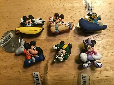 Disney Action Figures Mickey Donald Authentic Jibbitz Shoe Charm Fit Crocs