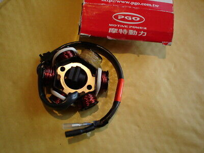 PGO scooter G-Max 125 stator assembly.       C11210200001  New.