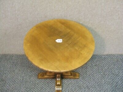 17Th  Century Style  /  Oak  Circular   Table  / By Gwilym Price Son & Daughters