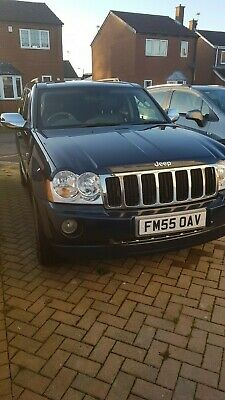 2005 (55) Jeep Grand Cherokee 3.0 V6 Crd Limited 5Dr Automatic