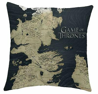 Game of Thrones Map of Westeros Cushion 38cm x 38cm Christmas Stocking Filler