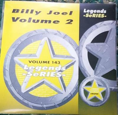 Legends Karaoke Cdg Billy Joel #143 Oldies Rock 16 Songs Cd+G Big Shot Pop 1980S
