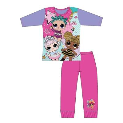 LOL Surprise Dolls Girls Pyjamas Pajamas Age 4-5 Years