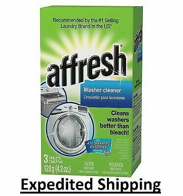 Affresh HE Washing Machine Cleaner Pick 1, 3, 6, 10, 12 and 24 Pack Tablets NEW