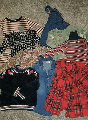Girls bundle. Dresses, jumpers and shorts. Age 3-4 years. Next, M&S and Very