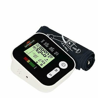 New Digital Upper Arm Blood Pressure Monitor Portable Meter 180 Memory