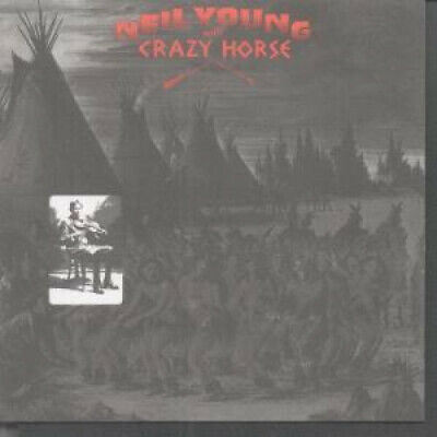 NEIL YOUNG AND CRAZY HORSE Broken Arrow CD Germany Reprise 1996 8 Track