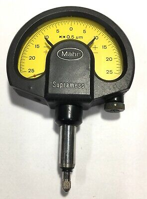 Mahr Federal 4335000 1002 Supramess Dial Comparator, ±0.025mm Measuring Range