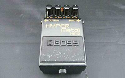 BOSS HM-3 Heavy Metal Guitar Effects Pedal Tested Working Used