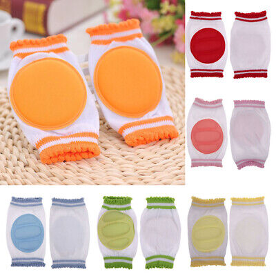 Kids Knee Pads Protector Safety Crawling Elbow Cushion Soft Safety Beautiful New