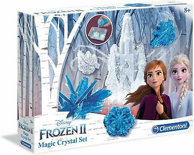 Disney Frozen II Elsa Anna Clementoni Make your Own Magical Crystal Set 8+ years