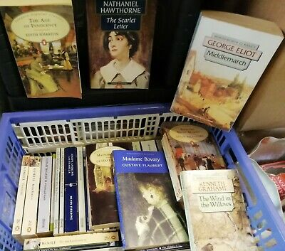 Very Large Selection of Classic Fiction Paperback Books