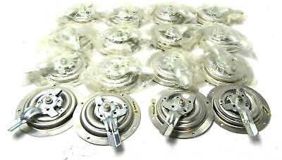 16x New Hansen Three Point Flush Mount D Rings Folding Handle 6-1/8"