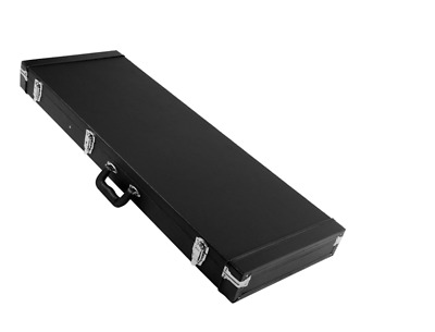 Portable Electric Guitar Case Hard Shell Square Wood for Standard Guitars US