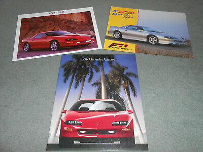 1995 95 Chevrolet Chevy Camaro Sales Brochure Literature Catalog 31 Pages