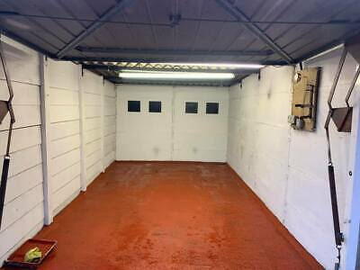 Freehold 18Ft By 10Ft Lockup Garage - With Electric & Super Secure - Swap Or £