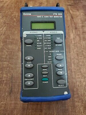 EXTRON VTG 300 Handheld Battery Powered Video & Audio Test Generator