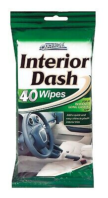 Car-Pride Interior Dash Wipes Car Cleaning Clean & Shine 40 Wipes