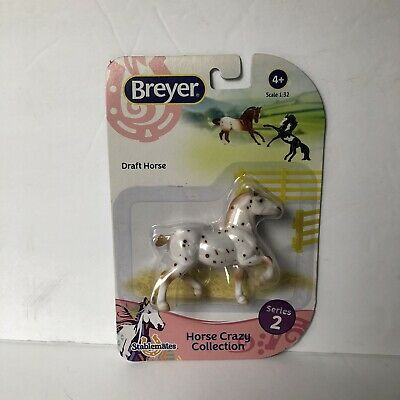 Breyer Stablemate 2018 Spotted Draft Horse Crazy Series 2