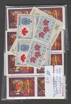 Canada Mint Postage Lot $50.00 Mnh Face For $35.00 See List #117
