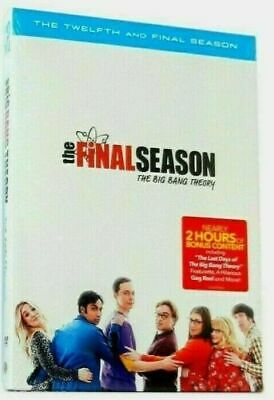 The Big Bang Theory: The Complete Twelfth and Final Season12 [DVD] Free Shipping