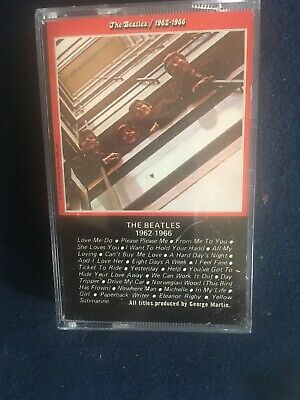 Cassette: Beatles 1962-1966: Greatest Hits Best Of Red