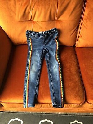 Girls Next Skinny Blue Jeans Age 9