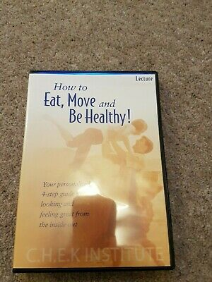 Paul chek DVD eat move and be healthy