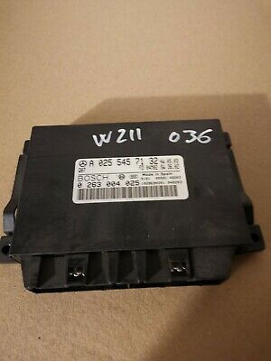 A0255457132 Mercedes w211 E class Parking distance control unit