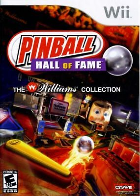 Pinball Hall of Fame: The Williams Collection (Nintendo Wii 2008) LN WITH Manual