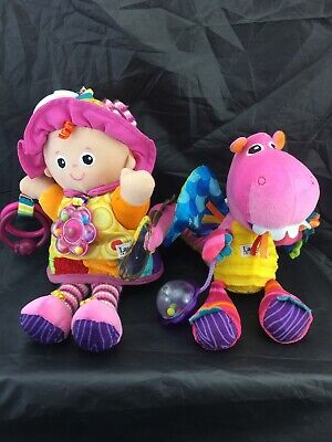 Lamaze *Dee Dee The Dragon & *Emily Doll Clip On Activity Toys.