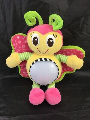 Playgro *Snuggle N Shine *Lullaby *Night Light Butterfly Toy.