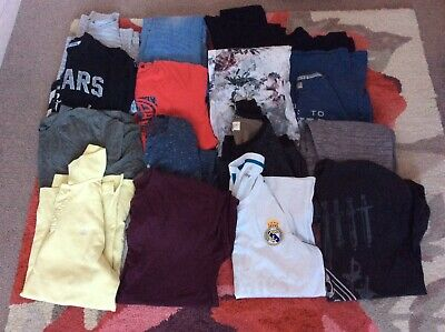 Large Boys Bundle Mixed Clothes Size S-M 15-16years X 16 Items