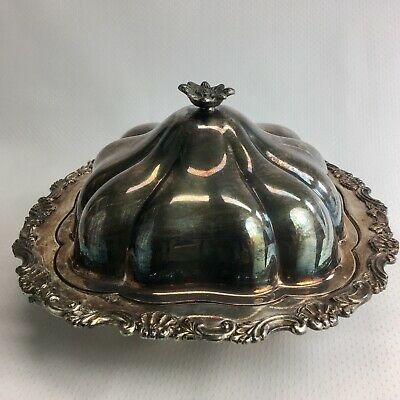 Sheffield Reproduction Silver Plated Cold Serving Tray