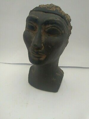 RARE ANCIENT EGYPTIAN ANTIQUE Nefertari Head Statue 1251-1215 BC